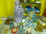 Krishna Getting Ready in our Pooja Room...