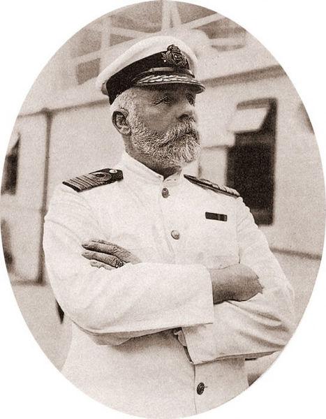 Edward Smith, captain of Titanic, in 1911