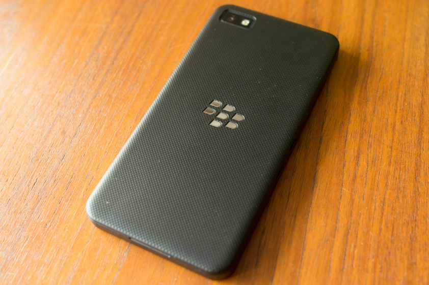 Blackberry Z10 Rear View